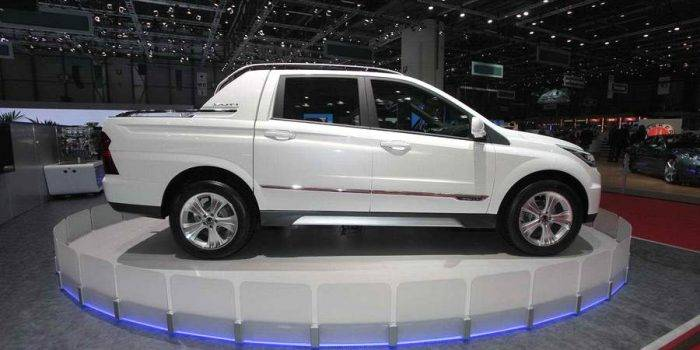 SsangYong Actyon 2017 фото