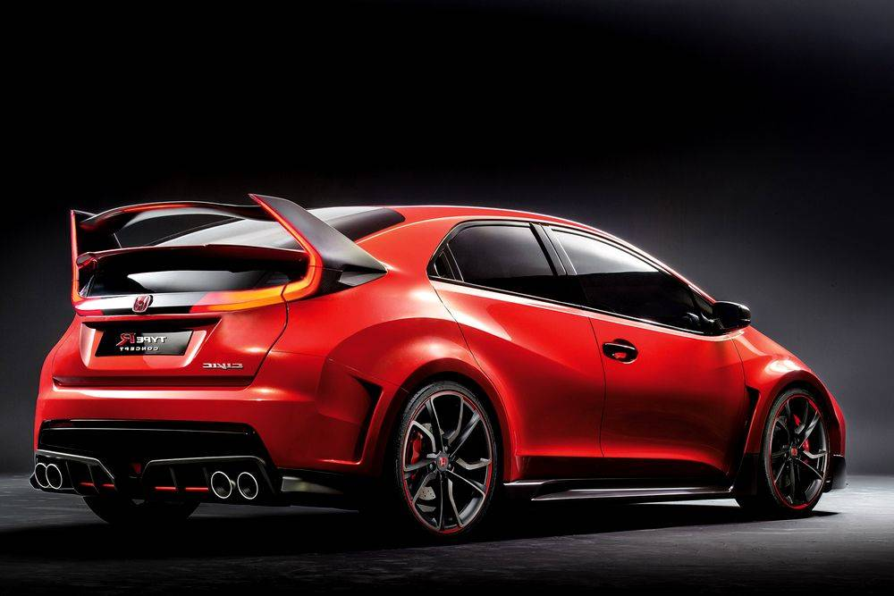 Honda civic type r фото