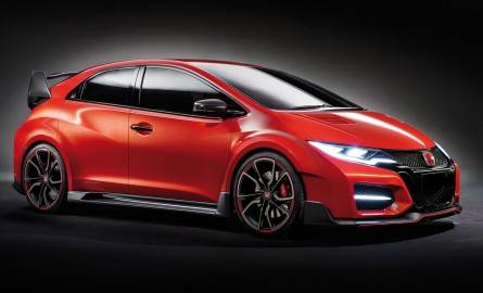 Хонда Цивик тайп Р (Honda Civic Type R). Фото.