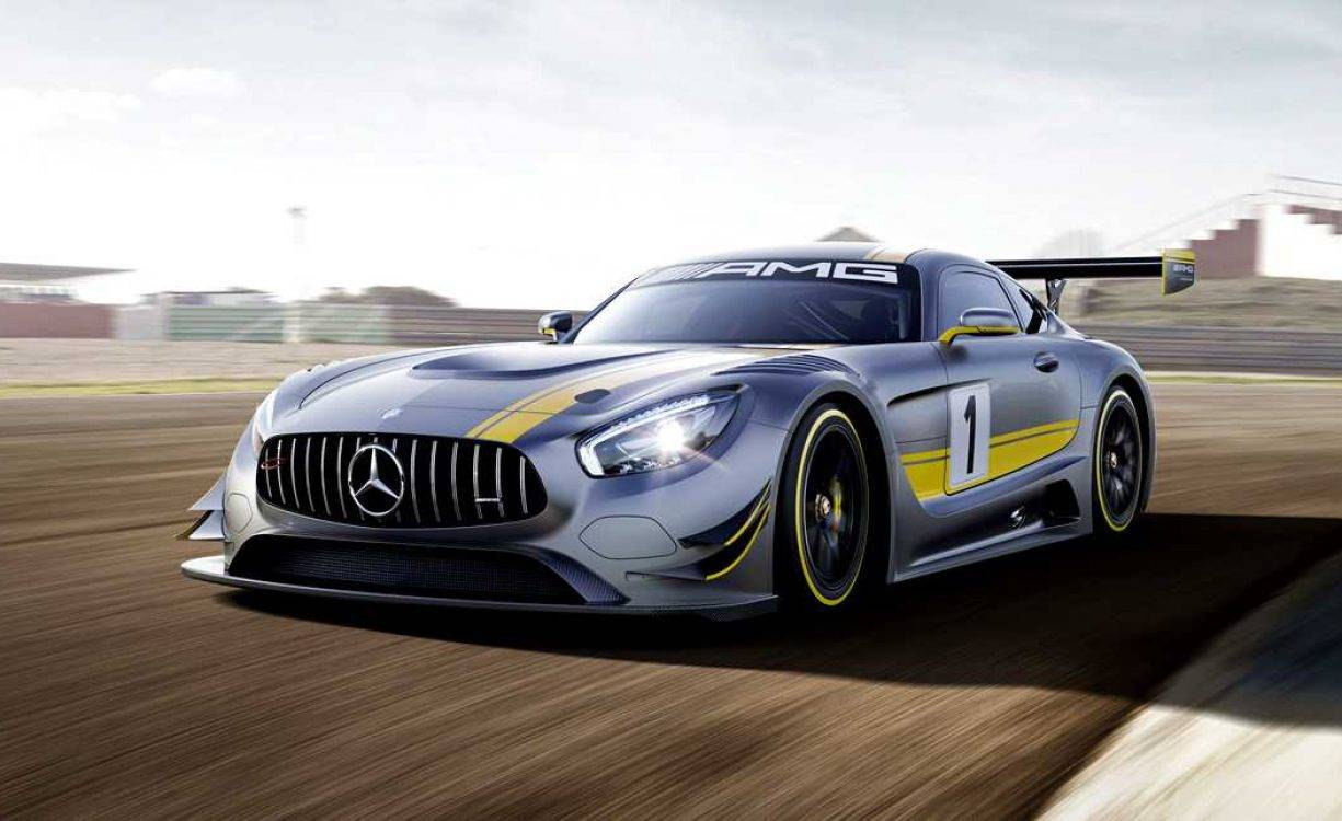 Mercedes-Benz AMG GT for FIA GT3 2016